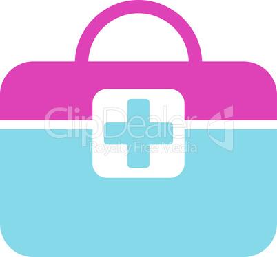 BiColor Pink-Blue--medical kit.eps