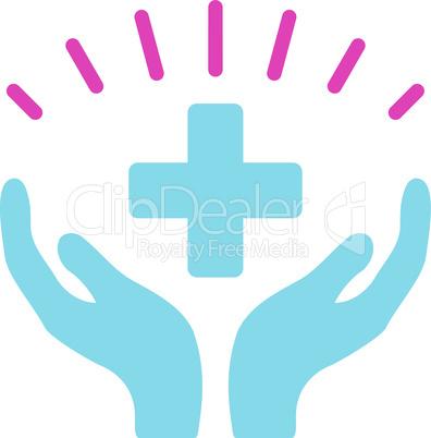 BiColor Pink-Blue--medical prosperity.eps