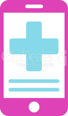 BiColor Pink-Blue--online medical data.eps