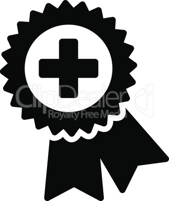 Black--medical quality seal.eps