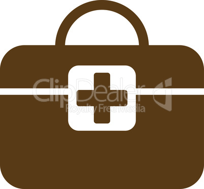 Brown--medical kit.eps