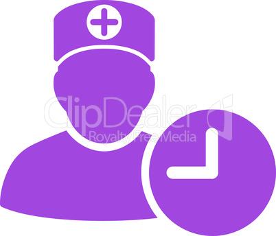Violet--doctor schedule.eps
