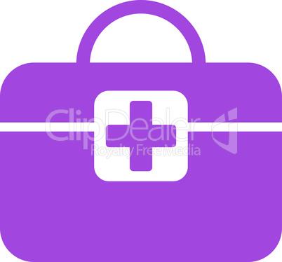 Violet--medical kit.eps