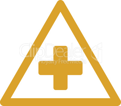 Yellow--health warning.eps