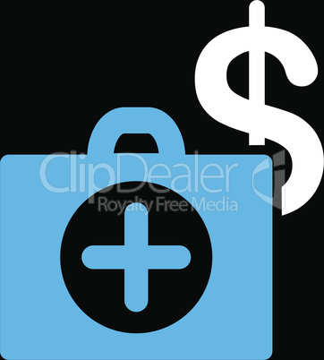 bg-Black Bicolor Blue-White--payment healthcare.eps