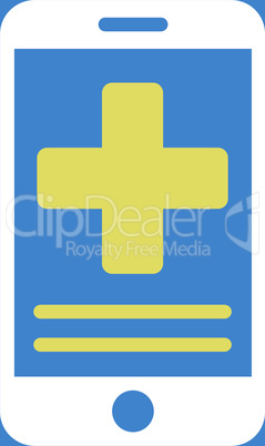 bg-Blue Bicolor Yellow-White--online medical data.eps