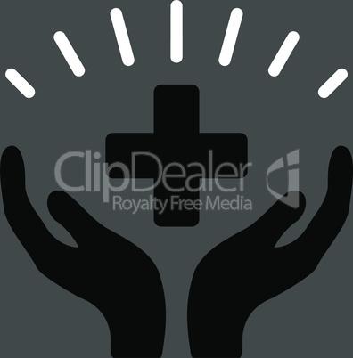 bg-Gray Bicolor Black-White--medical prosperity.eps