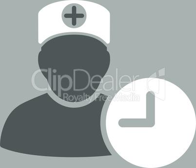 bg-Silver Bicolor Dark_Gray-White--doctor schedule.eps