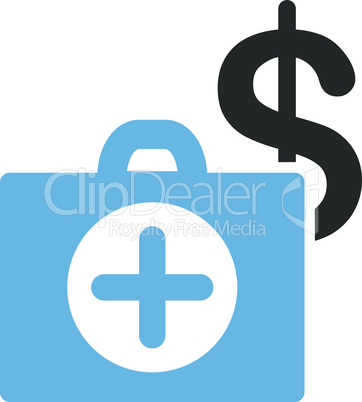 Bicolor Blue-Gray--payment healthcare.eps