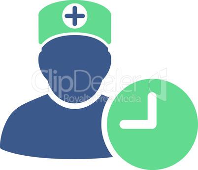 BiColor Cobalt-Cyan--doctor schedule.eps