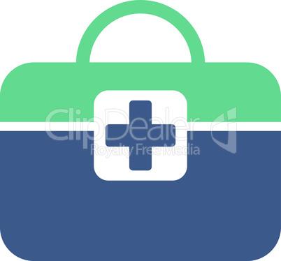 BiColor Cobalt-Cyan--medical kit.eps