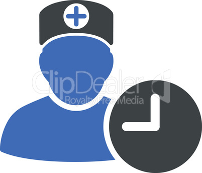 BiColor Cobalt-Gray--doctor schedule.eps
