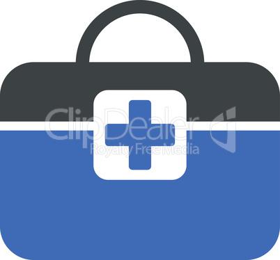 BiColor Cobalt-Gray--medical kit.eps