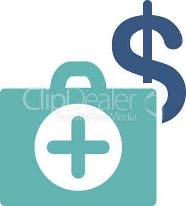 BiColor Cyan-Blue--payment healthcare.eps