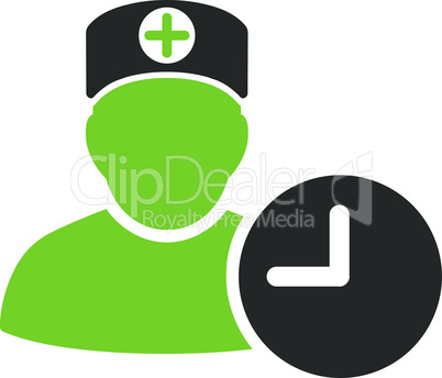 Bicolor Eco_Green-Gray--doctor schedule.eps