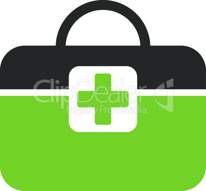 Bicolor Eco_Green-Gray--medical kit.eps