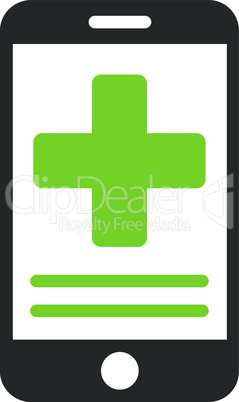 Bicolor Eco_Green-Gray--online medical data.eps