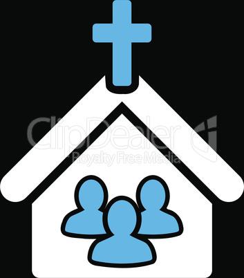 bg-Black Bicolor Blue-White--church.eps