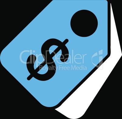 bg-Black Bicolor Blue-White--price tags.eps