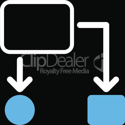 bg-Black Bicolor Blue-White--scheme.eps