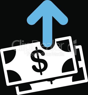 bg-Black Bicolor Blue-White--pay.eps