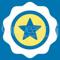 Reward seal icon from Competition & Success Bicolor Icon Set