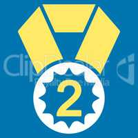 Second place icon from Competition & Success Bicolor Icon Set