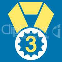 Third place icon from Competition & Success Bicolor Icon Set