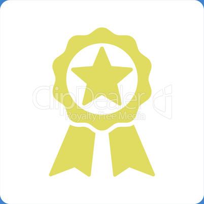 bg-Blue Bicolor Yellow-White--award.eps