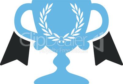 Bicolor Blue-Gray--award cup.eps