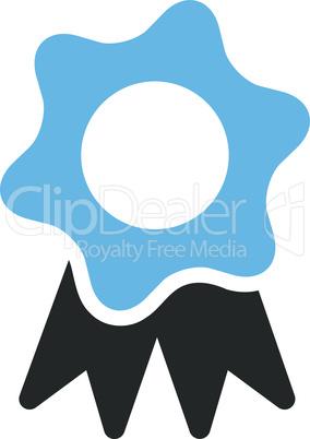 Bicolor Blue-Gray--award seal.eps