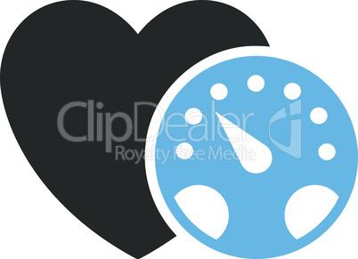 Bicolor Blue-Gray--blood pressure meter.eps