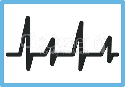Bicolor Blue-Gray--cardiogram.eps