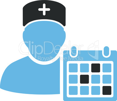 Bicolor Blue-Gray--doctor appointment.eps