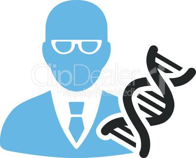 Bicolor Blue-Gray--genetic engineer.eps