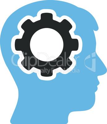 Bicolor Blue-Gray--human mind.eps