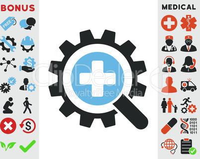 Bicolor Blue-Gray--find medical technology.eps