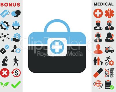 Bicolor Blue-Gray--medic case.eps