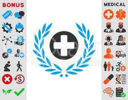 Health Care Embleme Icon