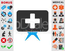 Health Care Presentation Icon