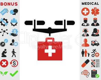 Bicolor Blood-Black--drug drone delivery.eps