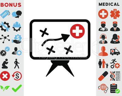 Bicolor Blood-Black--health strategy.eps