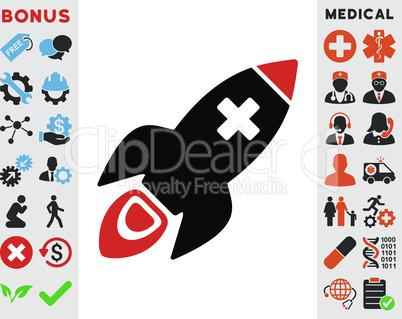 Bicolor Blood-Black--medical rocket.eps