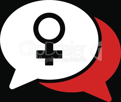 bg-Black Bicolor Red-White--female chat.eps
