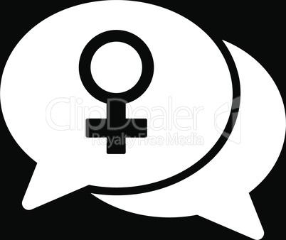 bg-Black White--female chat.eps
