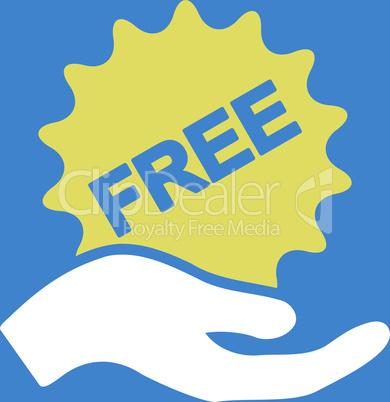 bg-Blue Bicolor Yellow-White--free present.eps