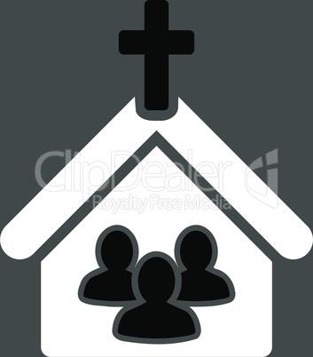bg-Gray Bicolor Black-White--church.eps