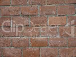 Red brick wall background