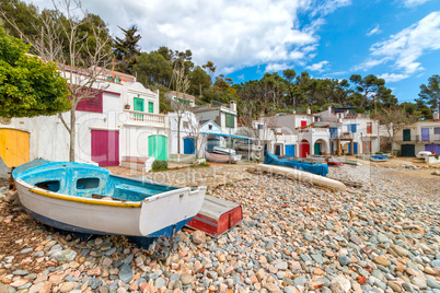 Nice, quiet seaside village of Spanish