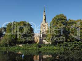 Holy Trinity church in Stratford upon Avon